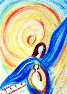 Engel von Gleis Sieben
